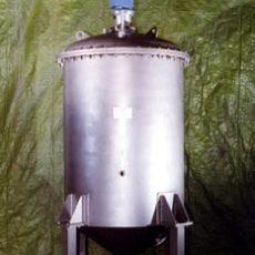 Vakuumrührbehälter für die Farb- und Lackindustrie